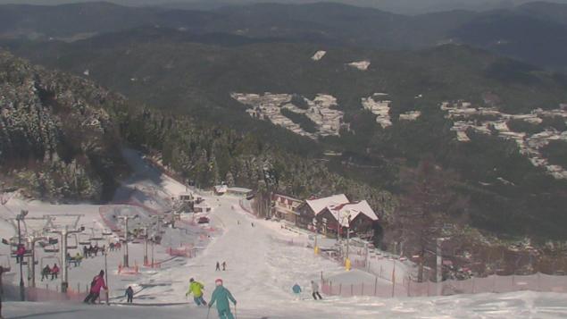 井川スキー場腕山山頂