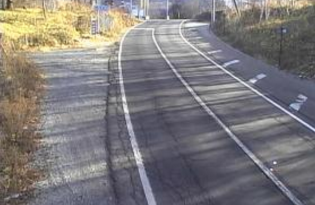 大門峠から国道152号