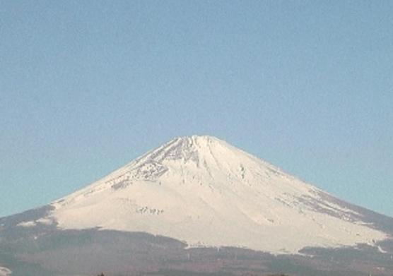 静岡県御殿場合同庁舎屋上から富士山