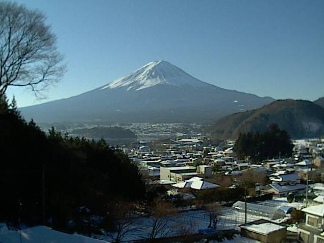 貸別荘ぶらっと河口湖から富士山・河口湖・鵜の島