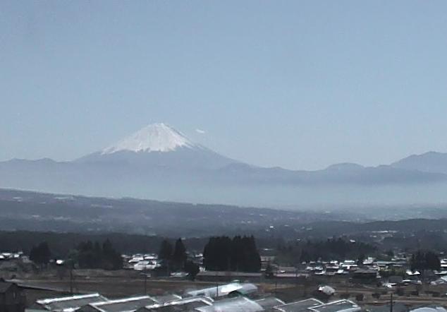大泉谷戸から富士山