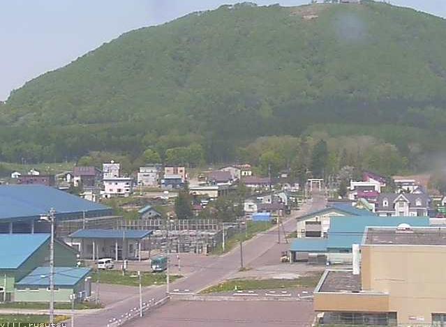 留寿都村役場から留寿都村内