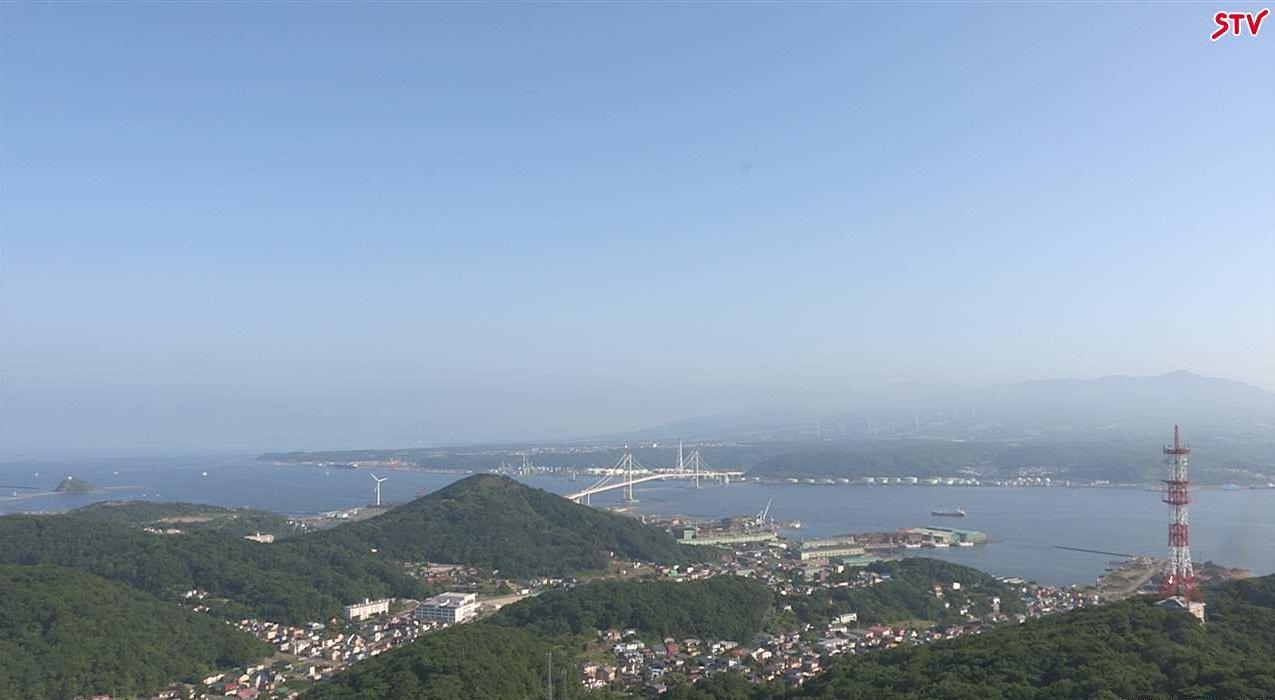 STV室蘭ライブカメラ(北海道室蘭市清水町)
