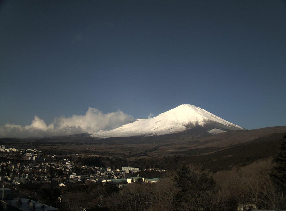 富士五湖TV須走富士山ライブカメラ(静岡県小山町須走)