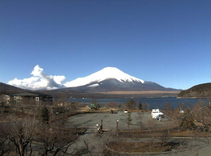 富士五湖TV山中湖平野富士山ライブカメラ(山梨県山中湖村平野)