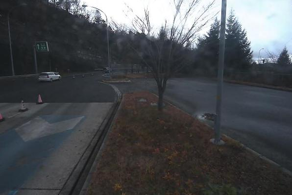 関沢ICから山形自動車道(山形道)