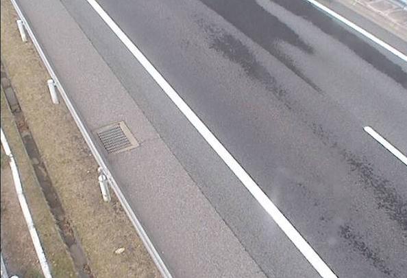 小布施PA下りから上信越自動車道(上信越道)