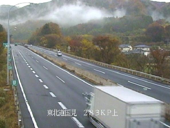 国見から東北自動車道(東北道)