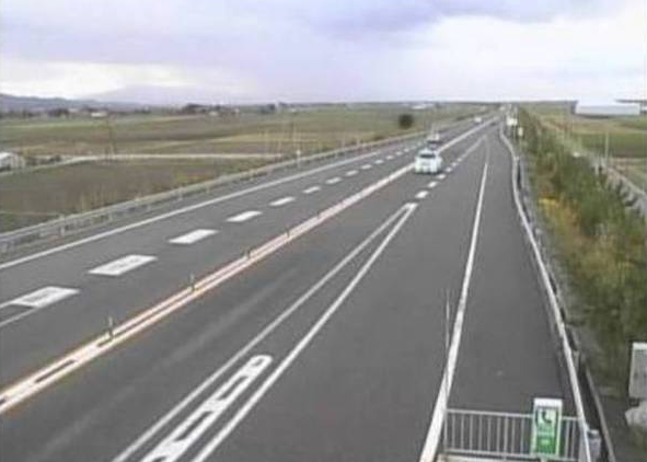 胎内BSから日本海東北自動車道(日東道)