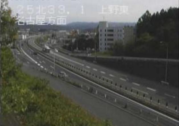 上野東から国道25号名阪国道
