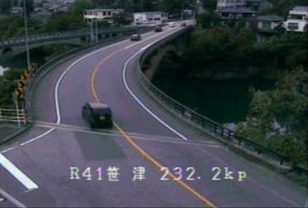 国道41号笹津ライブカメラ(富山県富山市笹津)