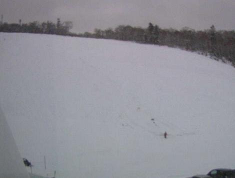 中山峠高原ホテルから中山峠スキー場