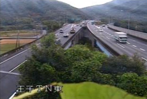 王子トンネル東から国道2号