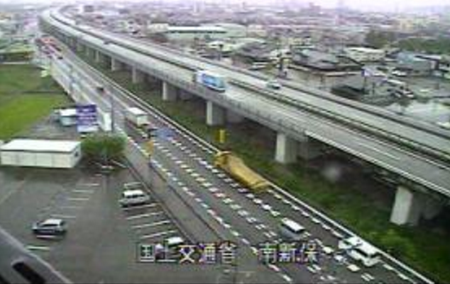 南新保から国道8号・北陸自動車道