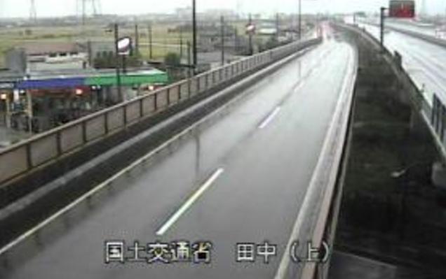 田中から国道8号・北陸自動車道