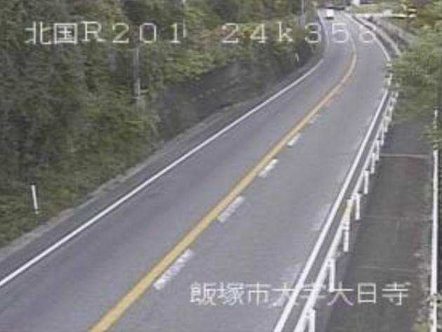 八木山峠から国道201号