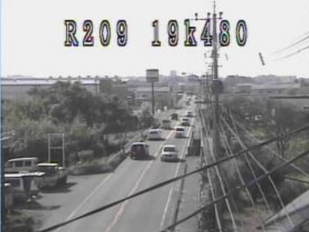 永代橋から国道209号