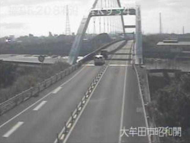 堂面川橋から国道208号有沿