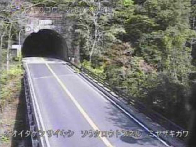 宗太郎トンネル終点から国道10号