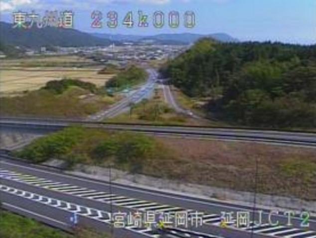 延岡ジャンクションから東九州自動車道(東九州道)