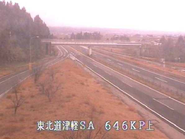 津軽SAから東北自動車道(東北道)