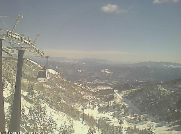 草津国際スキー場白根火山ロープウェイ