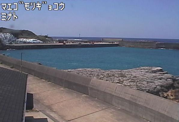 前籠漁港から宝島周辺海域