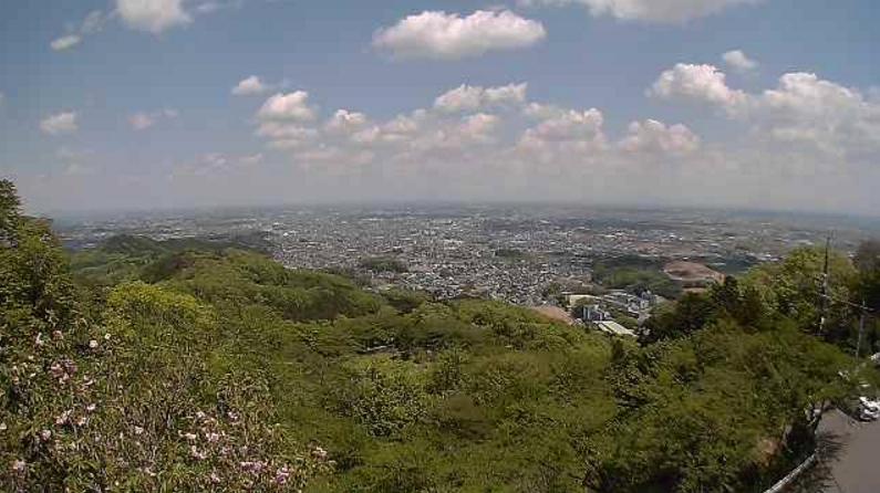 太平山頂付近ライブカメラ(栃木県栃木市平井町)