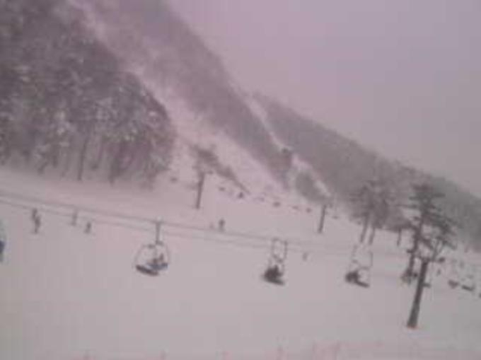 だいせんホワイトリゾート豪円山エリアライブカメラ(鳥取県大山町大山)