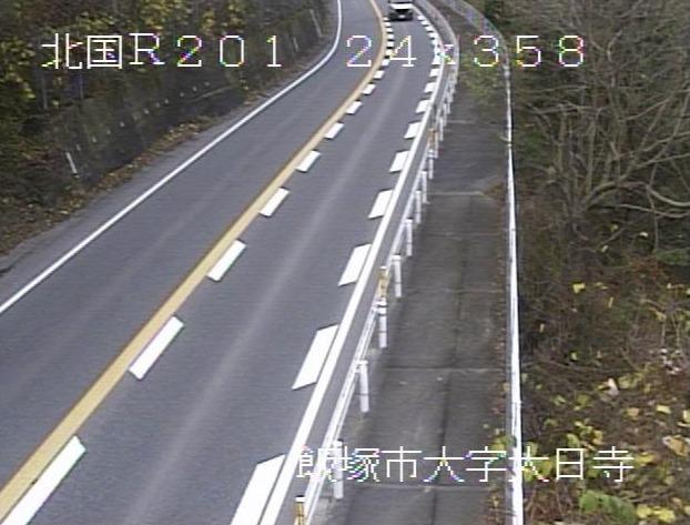 国道201号八木山峠8ライブカメラ(福岡県飯塚市大日寺)