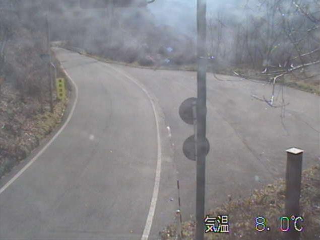 押角峠から国道340号(岩泉から新里方面)