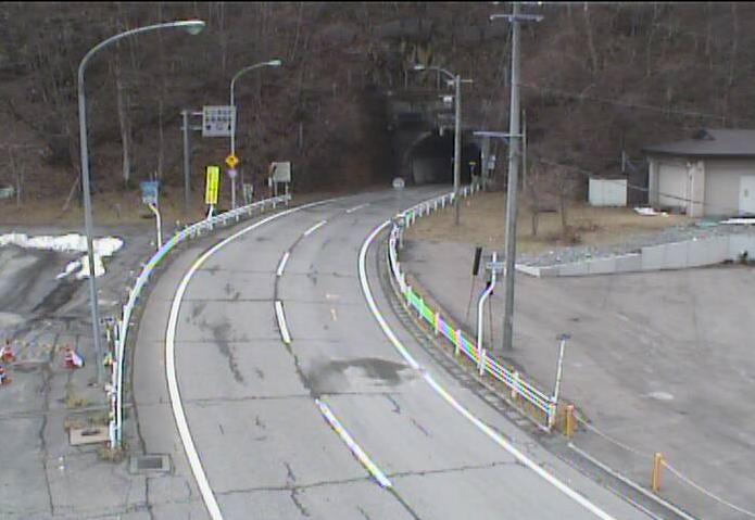 仙人トンネルから国道283号(釜石から遠野方面)