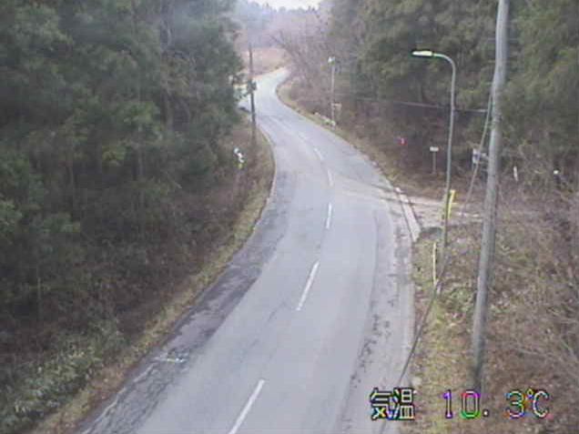 生母から岩手県道106号前沢東山線(東山から前沢方面)