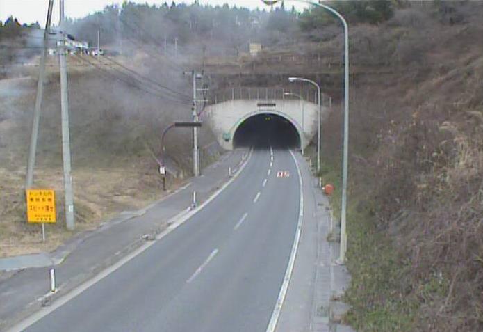 新狭山から岩手県道19号一関大東線(一関から東山方面)