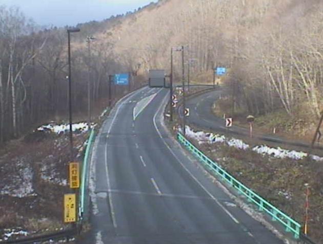 早坂トンネル盛岡側から国道455号(岩泉から盛岡方面)
