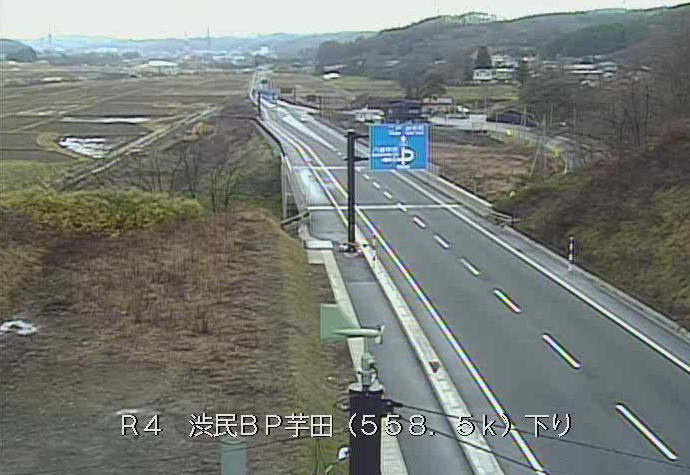 渋民バイパス芋田から国道4号