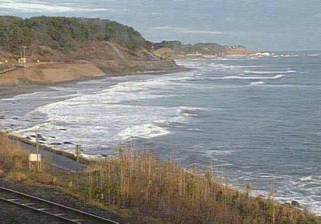 有家地区から太平洋・JR八戸線