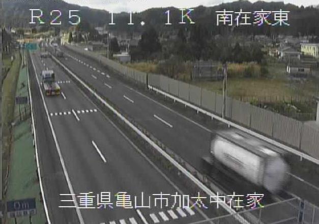 南在家東から名阪国道(国道25号バイパス)