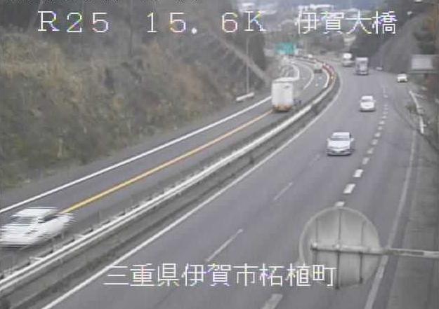 伊賀大橋から名阪国道(国道25号バイパス)