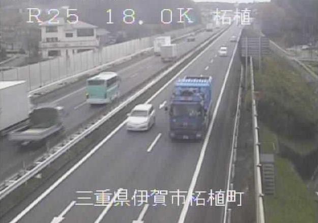 柘植から名阪国道(国道25号バイパス)