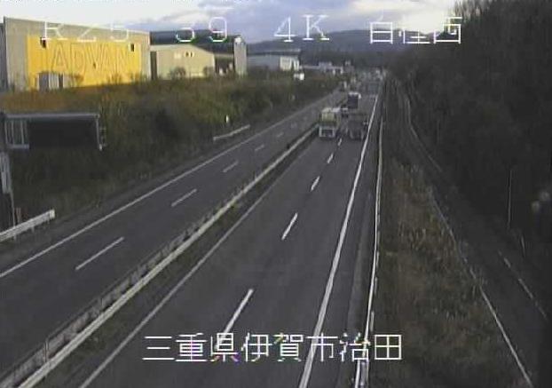 白樫西から名阪国道(国道25号バイパス)