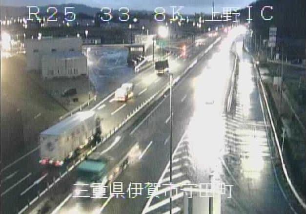 上野インターチェンジから名阪国道(国道25号バイパス)