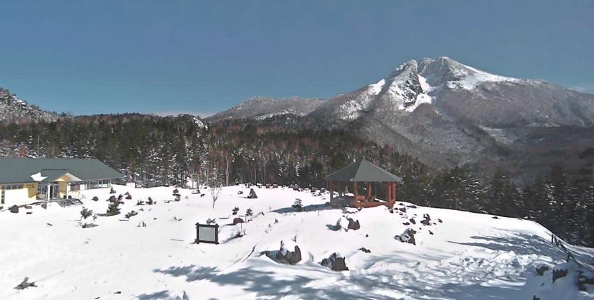 丸沼高原スキー場日光白根山方面