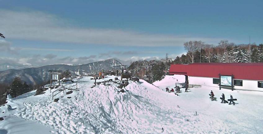 丸沼高原スキー場標高2000m