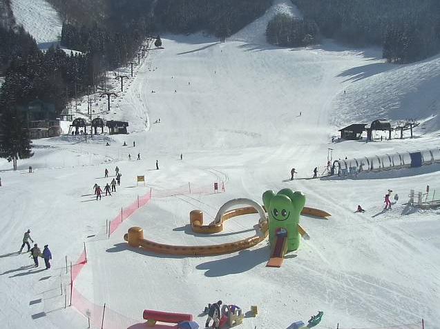 野沢温泉スキー場日影ゲレンデ