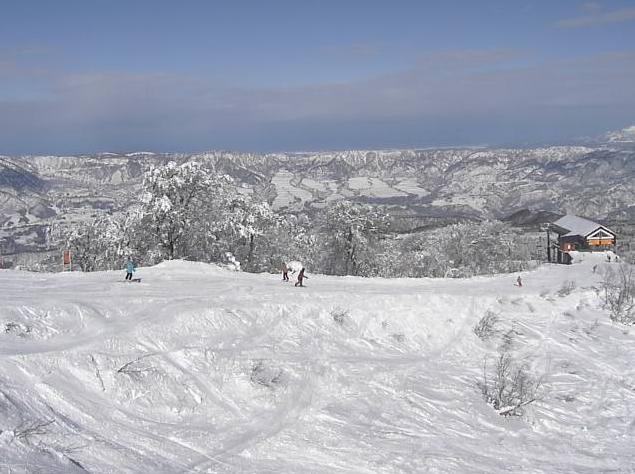 野沢温泉スキー場毛無山山頂