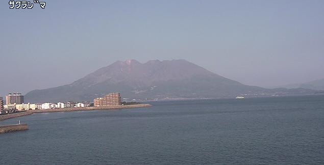 かごしま通信システムから桜島・マリンポート鹿児島・黎明みなと大橋
