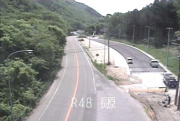 長原から国道48号が見えるライブカメラ。