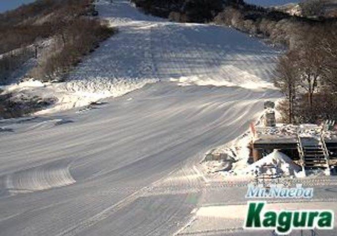 かぐらスキー場かぐらメインゲレンデライブカメラ(新潟県湯沢町三俣)