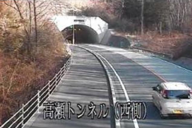 栃木県道宇都宮那須烏山線高瀬トンネル西側